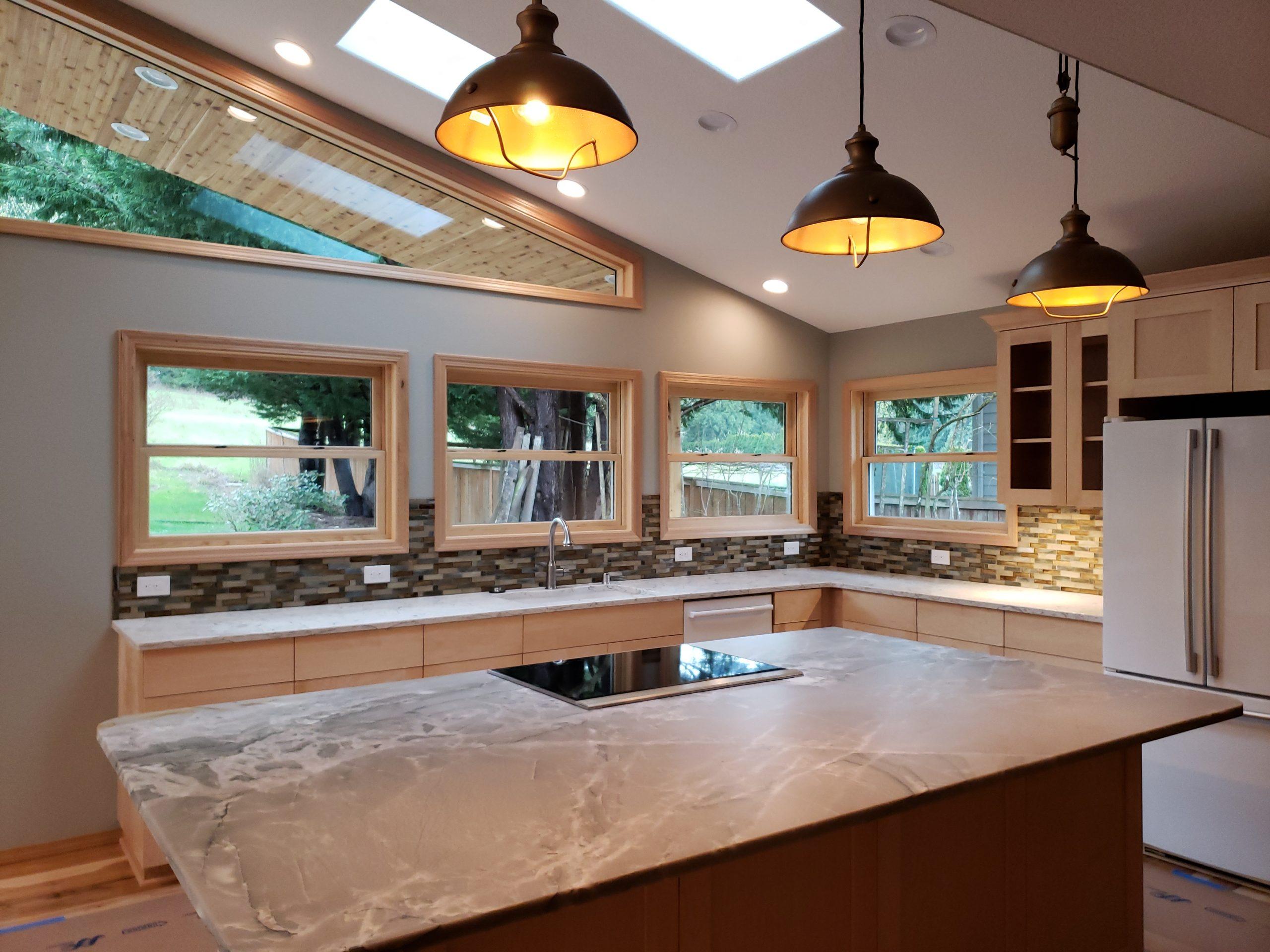 Vaulted Kitchen